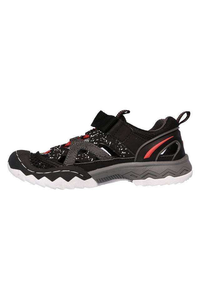Boys Synthetic Velcro Closure Sports Shoes