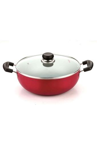 Non Stick Induction Deep Kadai with Handle - 4.1L