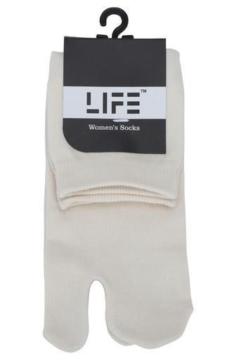 LIFE -  Off WhiteScarves & Socks - Main