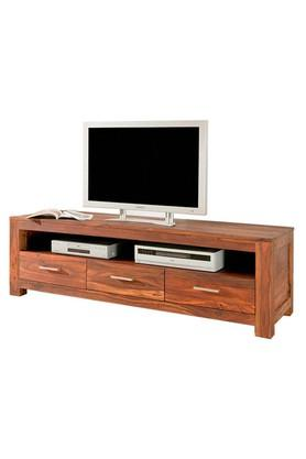 Brown Chirs TV Cabinet Unit
