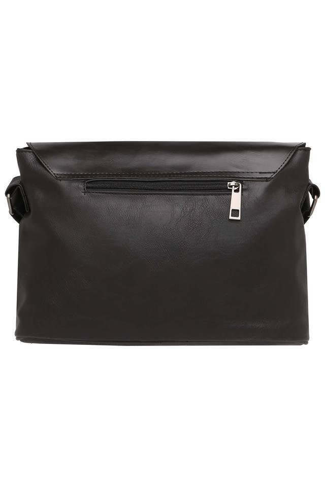 Mens Buckle Closure Sling Bag