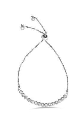 Womens Silver Plated Bracelet