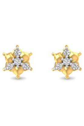 P.N.GADGIL JEWELLERS Womens Cheryl Diamond Earrings - DIDE0006