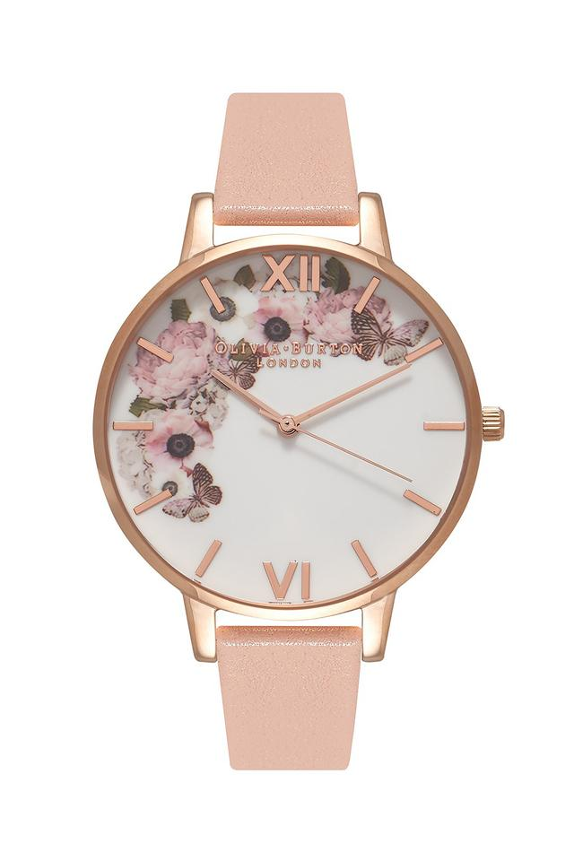 Womens Multi-Colour Dial Leather Analogue Watch - OB15WG10W