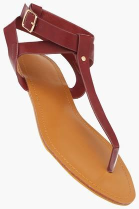 VAN HEUSEN Womens Casual Wear Buckle Closure Flats - 203155320_9664