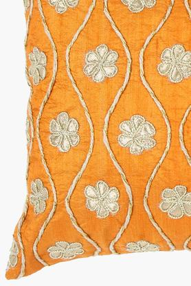 Rectangular Gota Patti Embroidered Cushion Cover