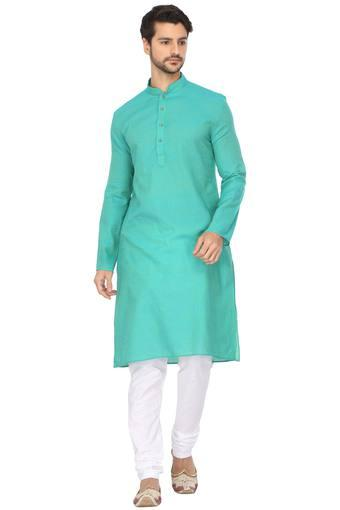 ETHNIX -  Green Ethnic Wear - Main