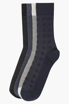 VETTORIO FRATINI Mens Printed Socks Pack Of 4