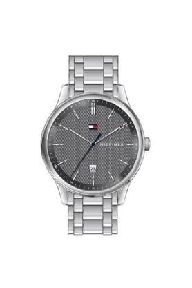 Mens Grey Dial Analogue Watch - TH1791490