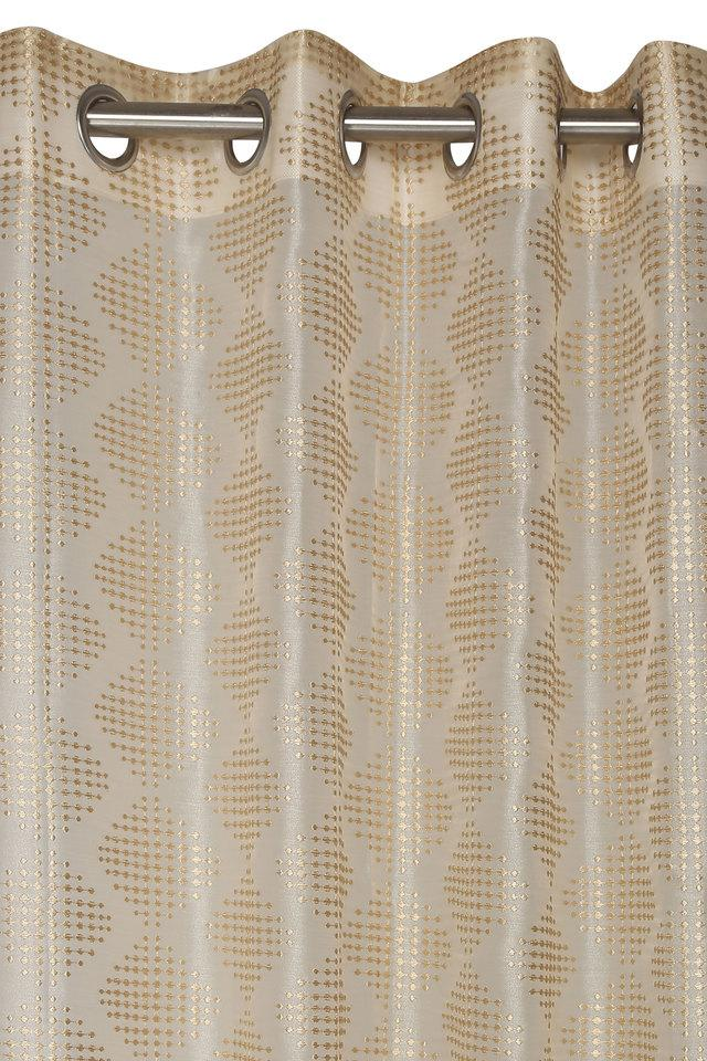 Polyester Embroidered Door Curtain