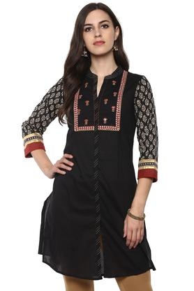 RANGRITI Womens Straight Cotton Indie Kurta