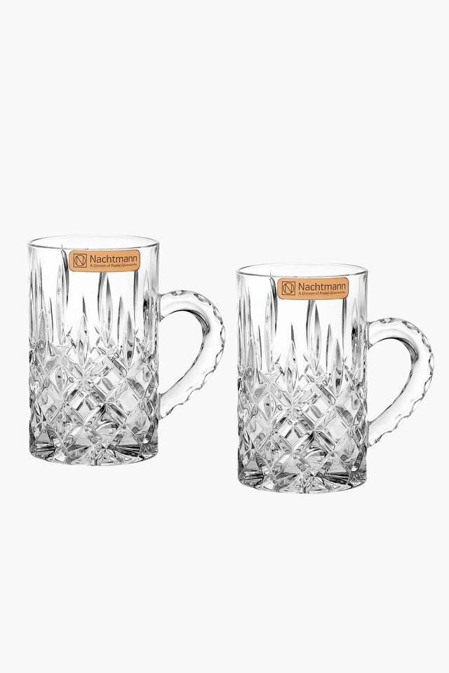Round Noblesse Mini Beer Mugs Set of 2