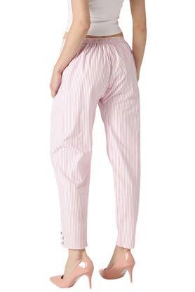 Womens Striped Trouser