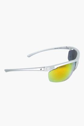 FASTRACK Mens Oval Non Gradient Sunglasses - P388RD1