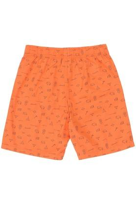 Boys Slim Fit Printed Shorts