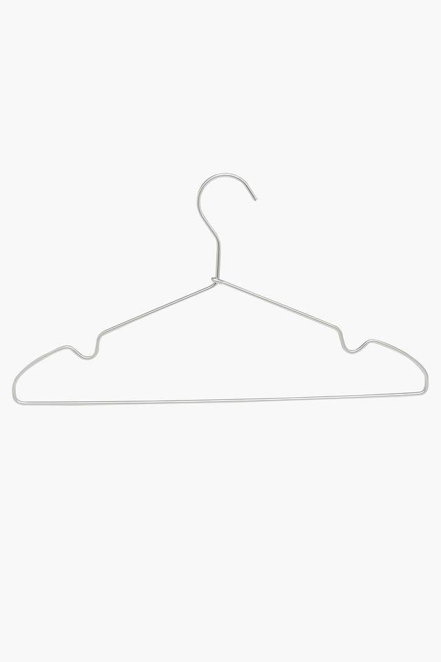 Closet Organiser Metallic Hanger Set of 5