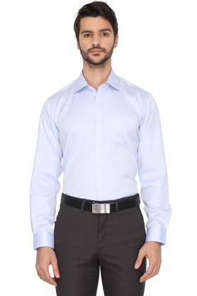 Mens Slim Collar Solid Shirt (Durapress)