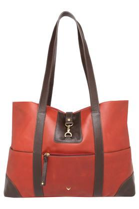 HIDESIGN Womens Hook And Loop Closure Shoulder Handbag - 203984570_9607