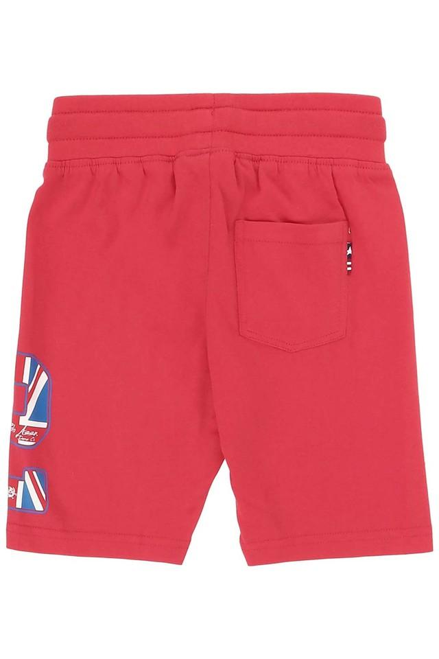 Boys Single Pocket Solid Shorts