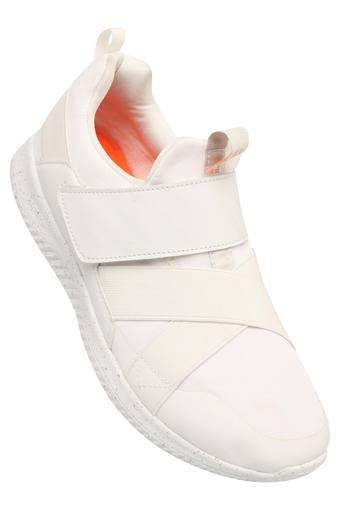 Mens Mesh Velcro Closure Sports Shoes