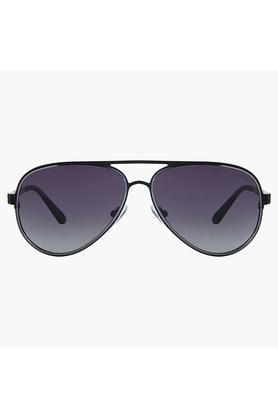 Mens Full Rim Polarized Lens Aviator Sunglasses - AZ60013C122