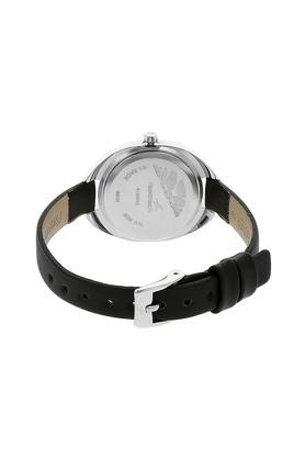 Womens Analogue Leather Watch - NK6125SL01