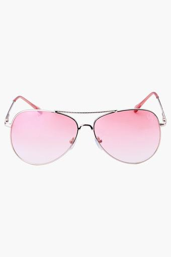 Womens Aviator UV Protected Lens Sunglasses - 408PINK