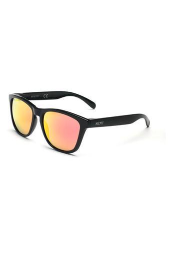 Unisex Full Rim Wayfarer Sunglasses - 2082 C1 S