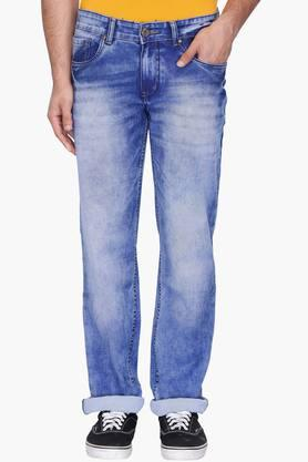 RS BY ROCKY STAR Mens 5 Pocket Stone Wash Jeans - 203120146