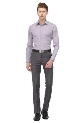 STOP - Purple Formal Shirts - 3