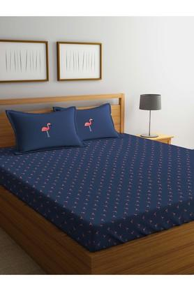 X PORTICO Printed Double Bed Sheet ...