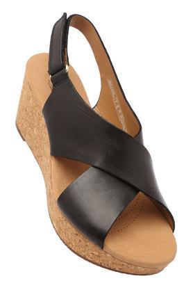 CLARKSWomens Casual Wear Velcro Closure Wedges