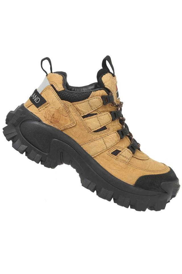Mens Lace Up Trekking Shoes