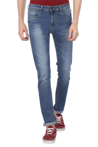 PETER ENGLAND JEANS -  Mid Blue Jeans - Main