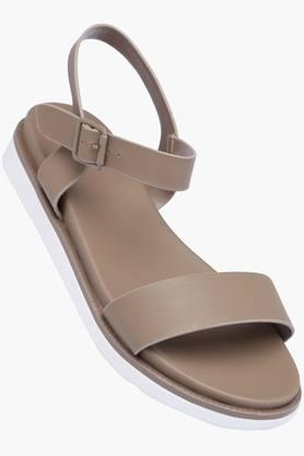 ALLEN SOLLY Womens Casual Wear Buckle Closure Flats