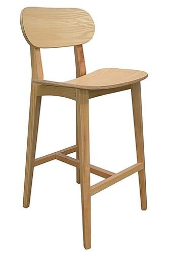 Brown Kevin Bar Chair