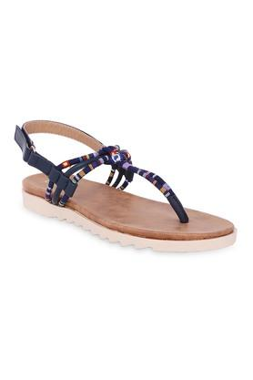 CERIZ Womens Casual Wear Velcro Closure Sandals
