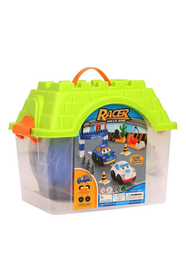 Unisex Racer Speed King Building Blocks