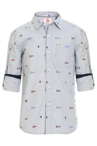 Boys Printed Casual Shirt
