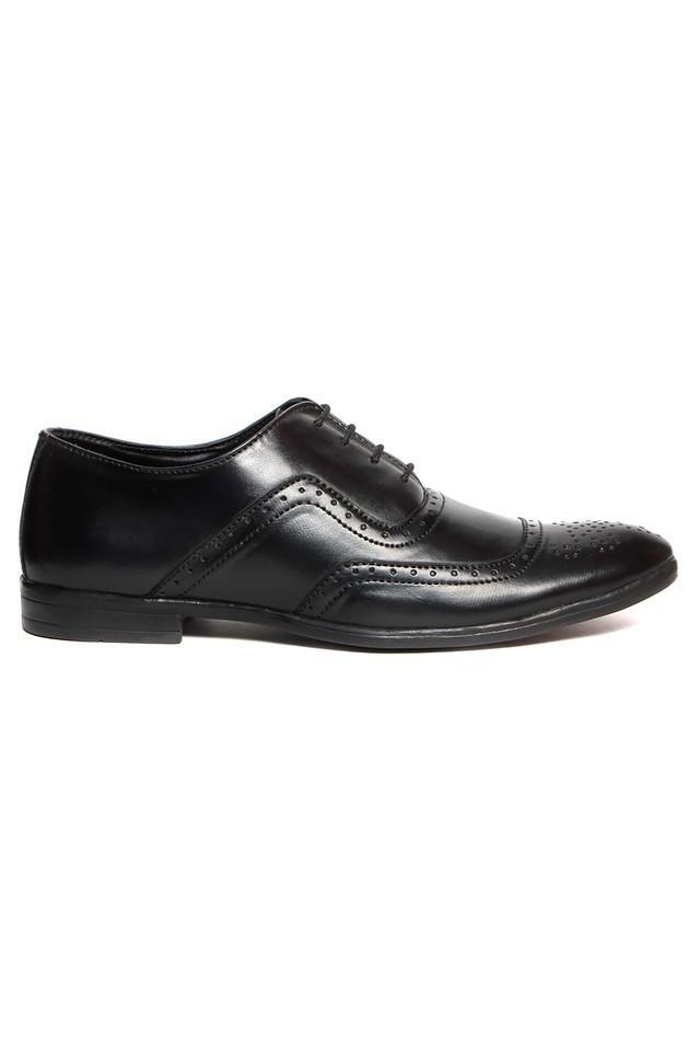 Mens PU Lace Up Shoes