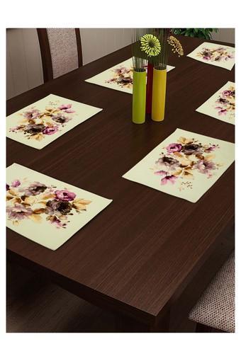 Printed Place Mats Set of 6