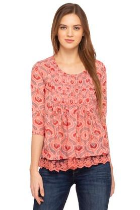 12580bbbb484 Ladies Tops - Get Upto 50% Discount on Fancy Tops for Women | Shoppers Stop