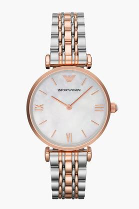 Womens Analogue Stainless Steel Watch - AR1683
