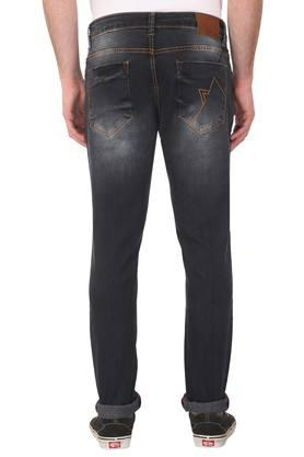 Mens 5 Pocket Mild Wash Jeans