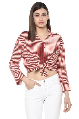 ccdcfc0b06 Buy Formal   Checked Womens Shirt Online