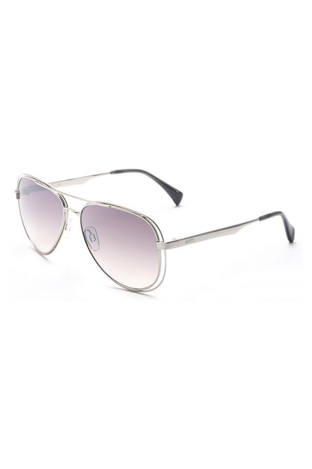 Unisex Full Rim Aviator Sunglasses - 2195 C2 S