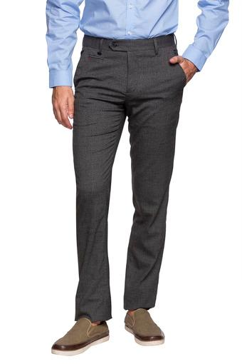 VAN HEUSEN -  Dark Blue Formal Trousers - Main