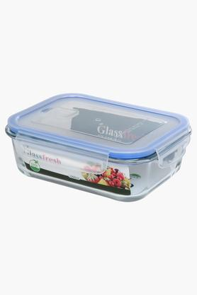 IVY Glass Container With Lid - 1100 Ml