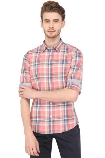 Mens Chiseled Fit Checked Shirt
