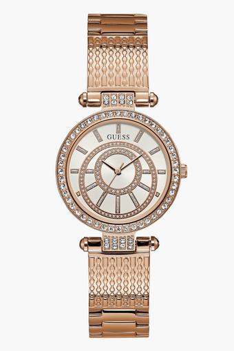 4b55bed1b Buy GUESS Womens Analogue Metallic Watch - W1008L3 | Shoppers Stop